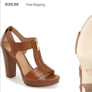 Michael Kors // zip high heel sandal